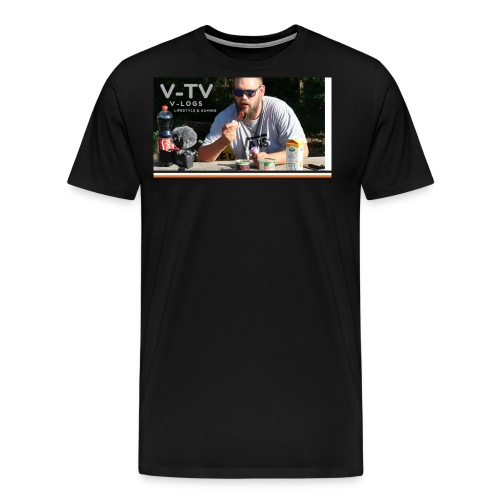 V-TV - Herre premium T-shirt