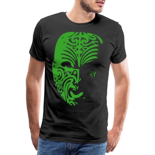maske grün png - Männer Premium T-Shirt