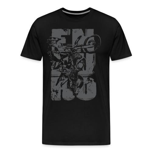 EnduroCross 01 - Koszulka męska Premium