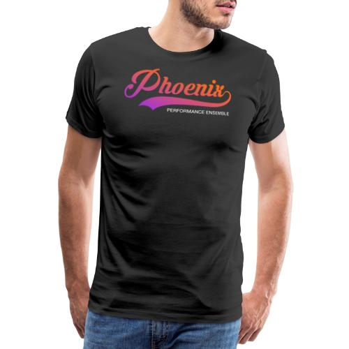 Phoenix Retro Color - Männer Premium T-Shirt