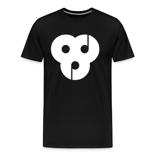 orbital dance party white - Men's Premium T-Shirt