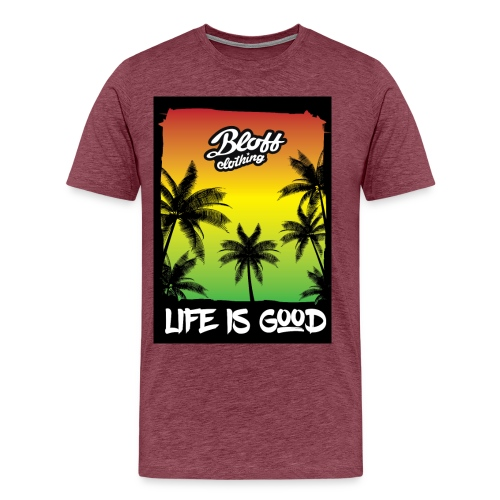 life is good - Camiseta premium hombre