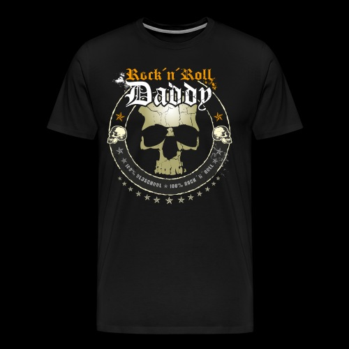 Rock ´n´ Roll Daddy - Männer Premium T-Shirt