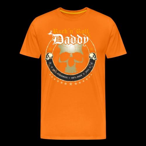 Rock ´n´ Roll Daddy - Männer Premium T-Shirt