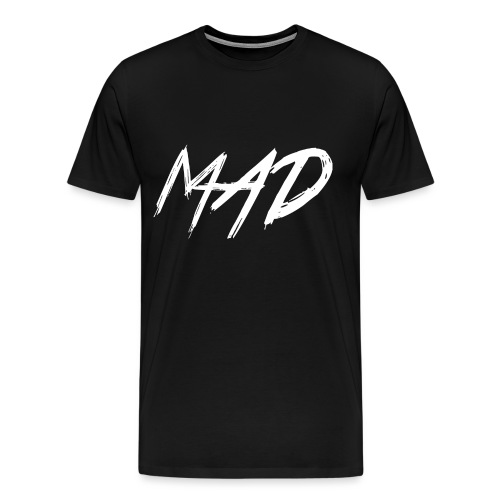 White and black - Mannen Premium T-shirt