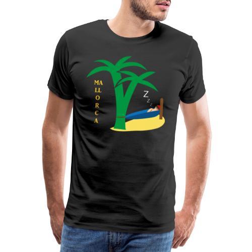 Mallorca - Urlaub unter Palmen - Männer Premium T-Shirt