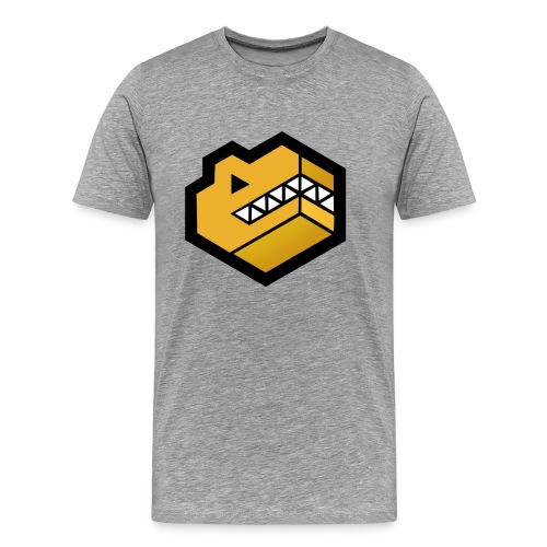 Gold Logo - Men's Premium T-Shirt