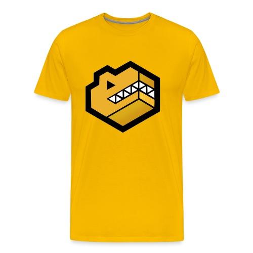 Gold Logo - Men's Premium T-Shirt