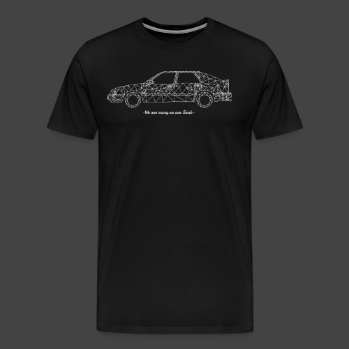 9000 We are many - Mannen Premium T-shirt