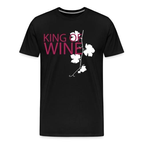 king_of_wein Winzer - Männer Premium T-Shirt