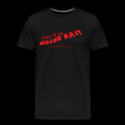 Attack of the Killer Kast logo - Premium T-skjorte for menn