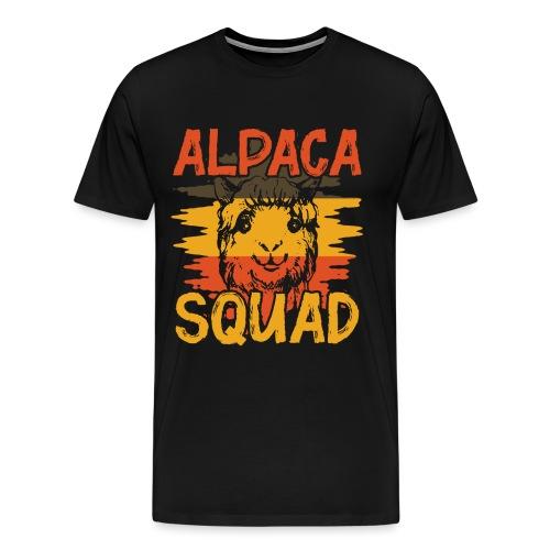 ALPACA SQUAD - Männer Premium T-Shirt