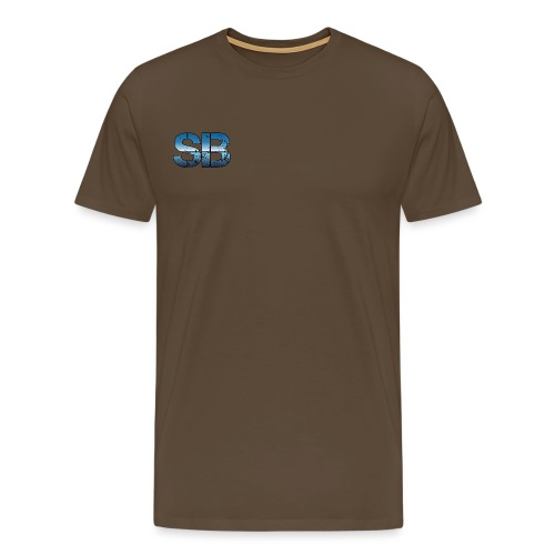 SB Logo - Herre premium T-shirt