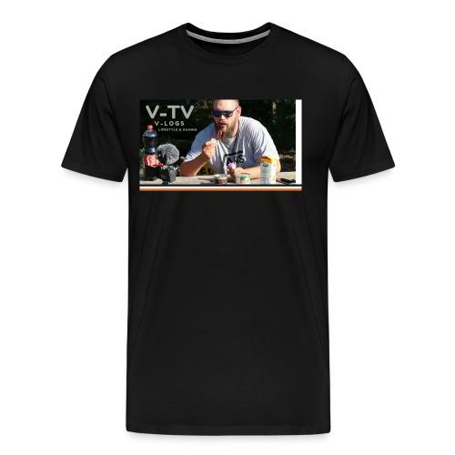 V-TV - Herre premium T-shirt