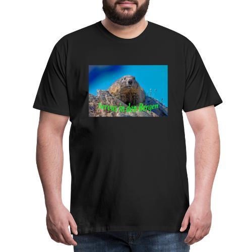 Servus in den Bergen - Männer Premium T-Shirt