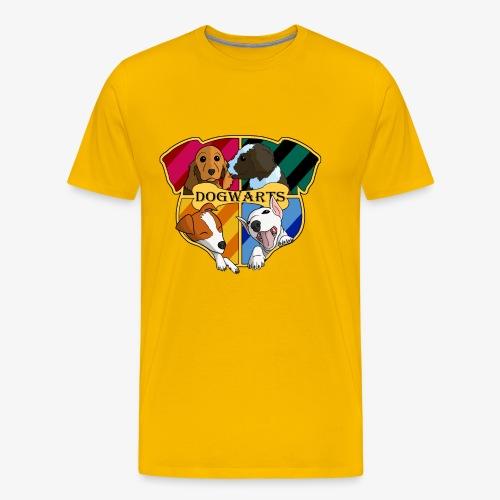 Dogwarts Logo - Men's Premium T-Shirt