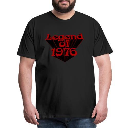 Legend of 1976 - Männer Premium T-Shirt