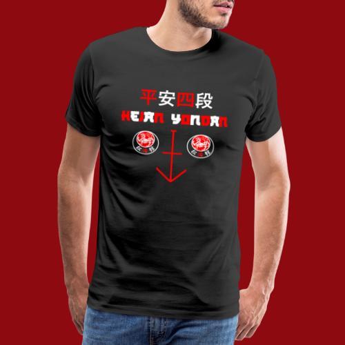 Heian Yondan - Shotokan Kata - Karate - Japan - Männer Premium T-Shirt