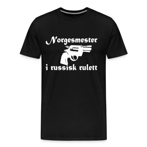 russiskrulett - Premium T-skjorte for menn