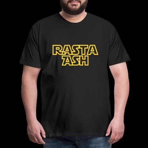 Rasta Ash logo PNG - Men's Premium T-Shirt