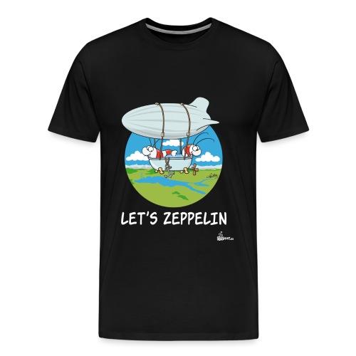 Let's Zeppelin - Männer Premium T-Shirt