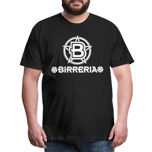 Logo Birreria 2021 white - Männer Premium T-Shirt