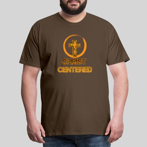 Christ Centered Focus on Jesus - Männer Premium T-Shirt