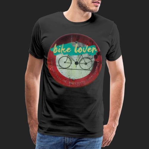 Bike lover - T-shirt Premium Homme