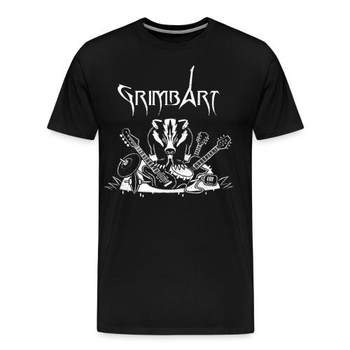 Meister Dachs - Männer Premium T-Shirt