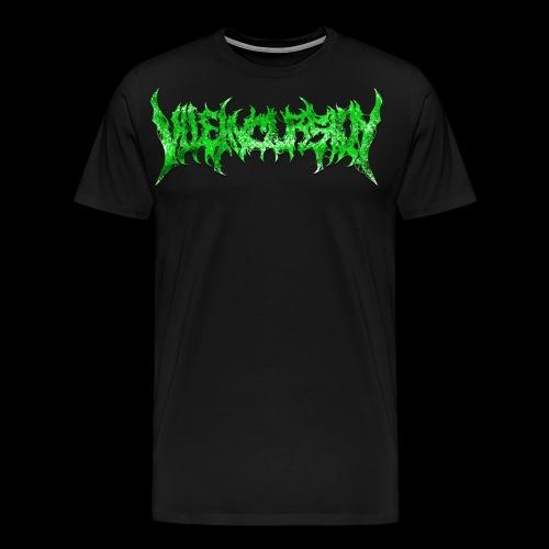 Multiprint Green - Premium-T-shirt herr