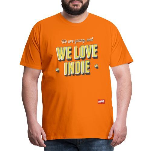 Indie Music logo - Men's Premium T-Shirt