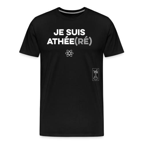 ATHÉE(RÉ) - T-shirt Premium Homme