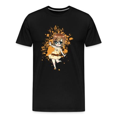 Luuva-Chibi-yellow - Männer Premium T-Shirt
