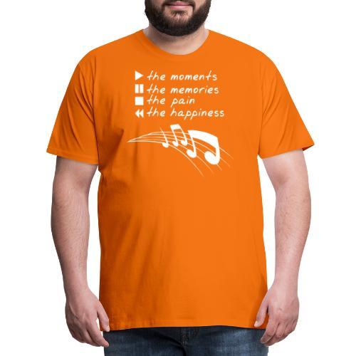The Sound of Life - Männer Premium T-Shirt