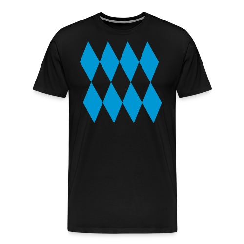 Bayern Raute groß - Männer Premium T-Shirt