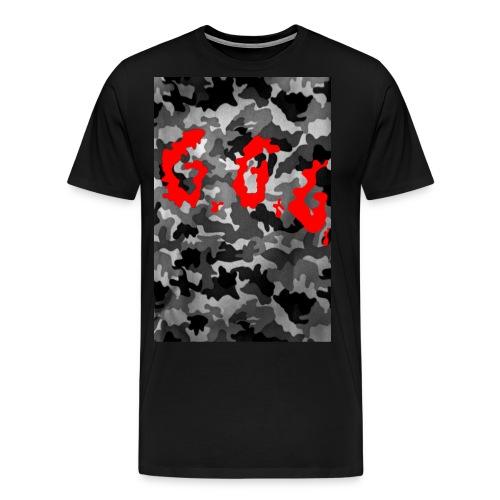 untitled 3 - Miesten premium t-paita