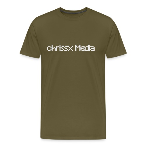chrissx Media white - Men's Premium T-Shirt