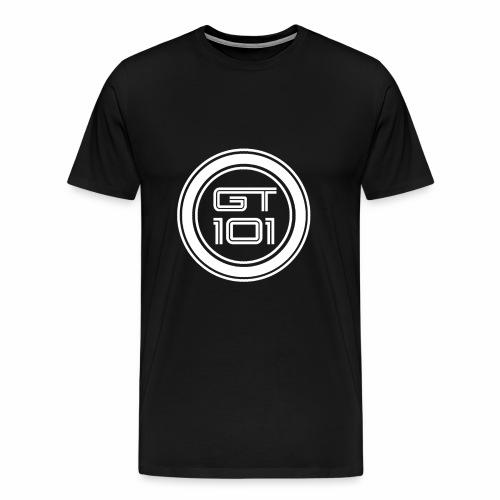 GT101circlewt - Men's Premium T-Shirt