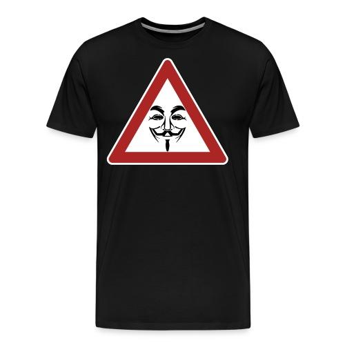 attentionymous - T-shirt Premium Homme