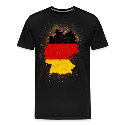 Deutschland Abstract - Männer Premium T-Shirt