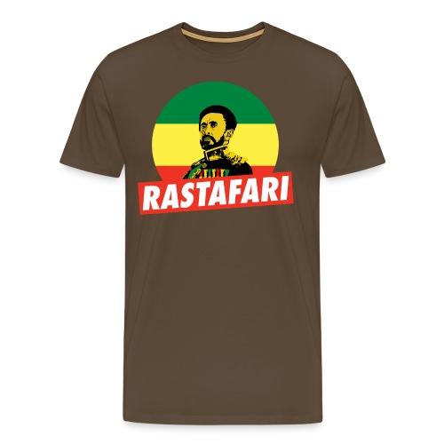 Haile Selassie - Emperor of Ethiopia - Rastafari - Männer Premium T-Shirt