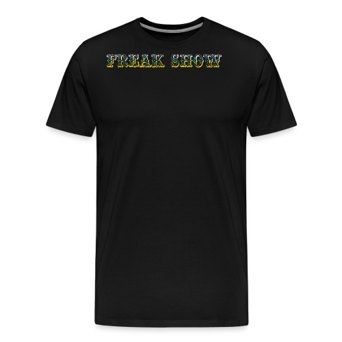 Freak Show larp - Miesten premium t-paita