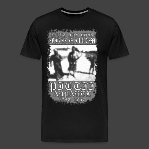 PICTFREE1 - BW - Men's Premium T-Shirt