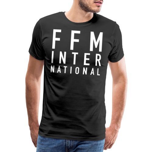 FFM INTERNATIONAL White - Männer Premium T-Shirt