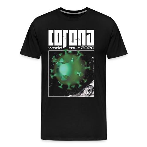 Corona World Tour 2020   Coronavirus - Men's Premium T-Shirt