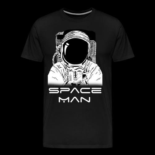Space man white - Men's Premium T-Shirt