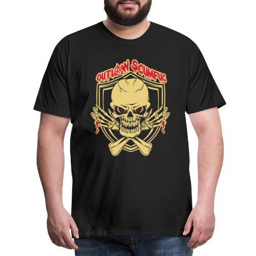 Outlaw Scumfuc - Männer Premium T-Shirt