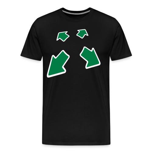 vierpfeile - Männer Premium T-Shirt
