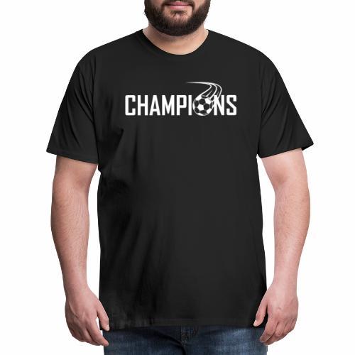Champions Fussball Logo - Männer Premium T-Shirt