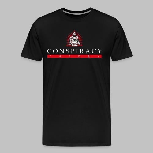 CONSP_BACK_LOGO_COLOR - Maglietta Premium da uomo